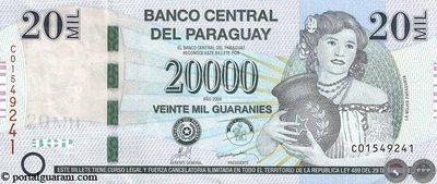 Cómo reconocer un billete falso de G. 20.000
