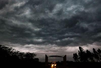 Alerta meteorológica para siete departamentos del país