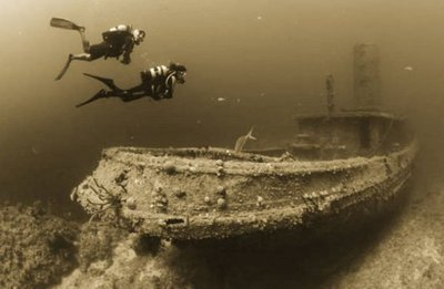 Descubren barcos romanos hundidos en costa norte de Egipto
