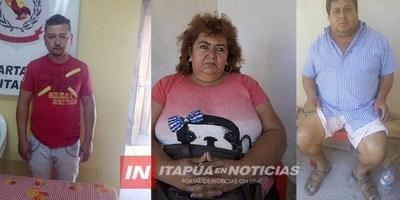 ENCARNACIÓN: INVESTIGACIONES DETIENEN A IMPLICADOS EN ASALTO