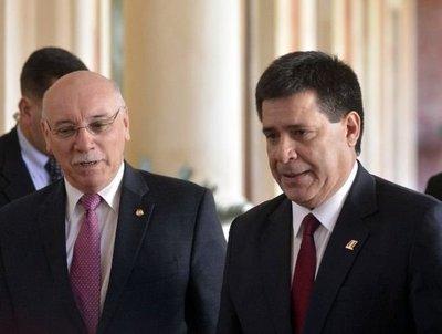 Cartes recibió a nuevos embajadores acreditados en Paraguay
