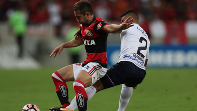 Flamengo tiene la mitad de la semifinal de la Sudamericana en el bolsillo