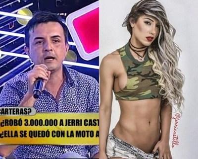 """Jerri Castillo y su ex amigo sacaron sus """"trapos sucios"""""""