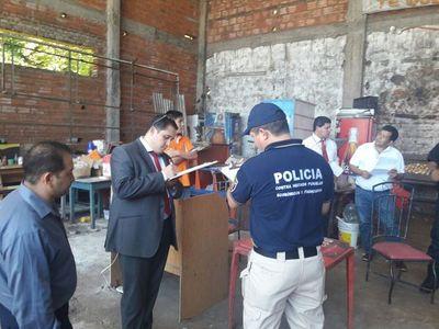 Incautan azúcar de contrabando en Villeta