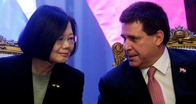 Taiwán reafirma cooperación con Paraguay