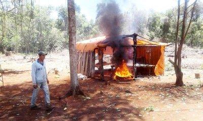 Desalojan a ocupantes de reserva natural de Caaguazú