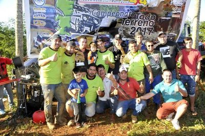 Rody Ortellado ganó la última fecha del campeonato 4x4