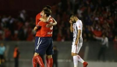 Independiente resurge de local y deja sin final a Libertad