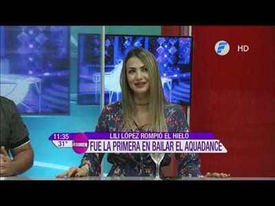 ¡Lili López abrió el AquaDance y esto dijeron los jurados!