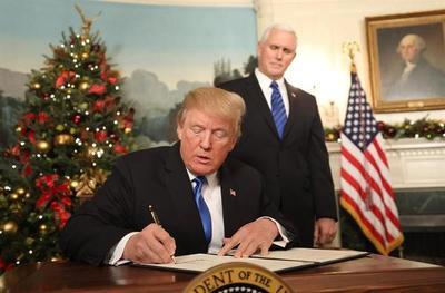Estados Unidos anuncia que reconoce a Jerusalén como capital de Israel