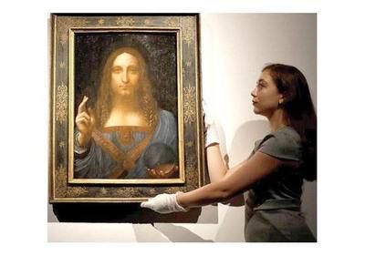 La obra de Da Vinci vendida por USD 450 millones irá al Louvre de Abu Dabi