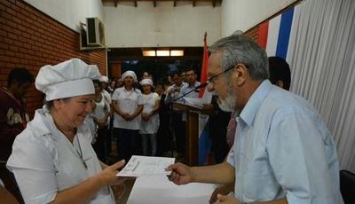 Más de 2.400 personas se capacitaron este año a través del SNPP en Amambay