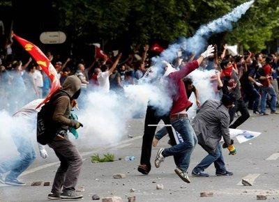 Turquía refuerza seguridad por protestas contra EEUU