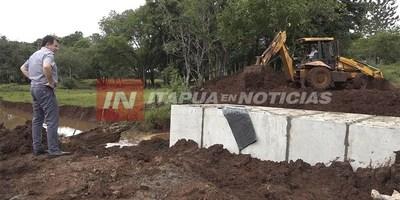 INICIA LA CONSTRUCCIÓN DE PUENTES Y ENTUBAMIENTOS EN TOMÁS R. PEREIRA.