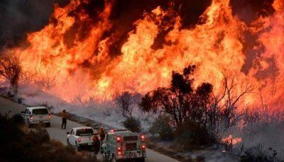Los incendios de California, contenidos solo en 15%, dejan 100.000 evacuados