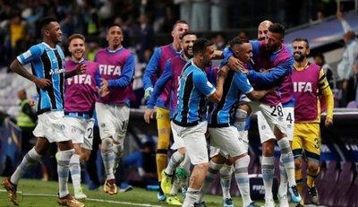 Gremio es finalista del Mundial de Clubes
