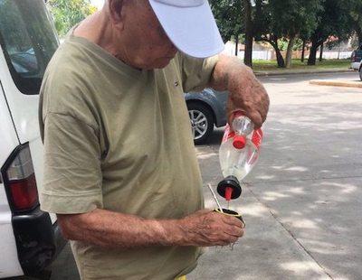 Abuelo es genio reciclador
