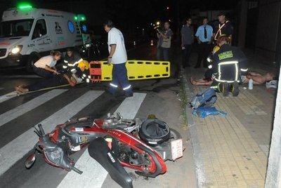 Abandonan a heridos tras accidentes
