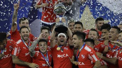 Independiente se adueñó de la Copa Sudamericana
