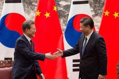 China y Corea del Sur sellan su reconciliación en plena crisis