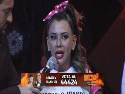 """Marly Figueredo es la segunda finalista: """"A mi también se me quiere"""""""