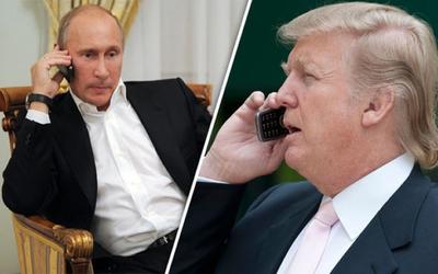Trump y Putin hablaron por teléfono sobre la crisis con Corea del Norte