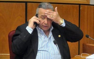 Senado estudiará mañana suspensión a González Daher por audios filtrados