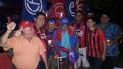 Fiesta azulgrana en Ypacaraí