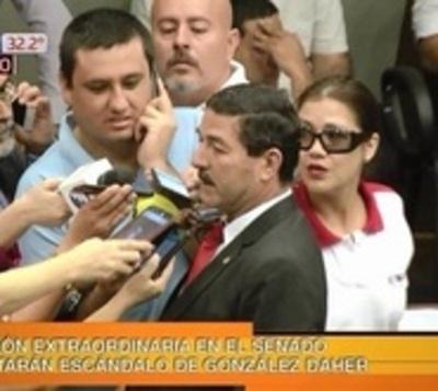 Audios de González Daher perjudicarán al oficialismo, según senador