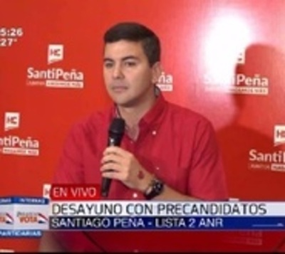 Peña defiende permanencia de González Daher en su lista