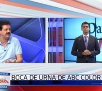 Diferencia de 3,7 % en primer corte de Boca de Urna