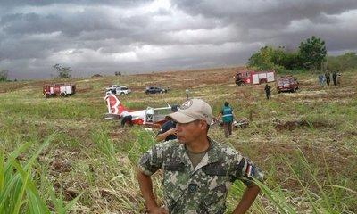 Itapúa: otro accidente aéreo