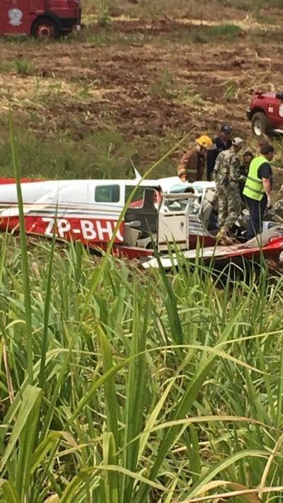 Cayó una avioneta y murió el piloto