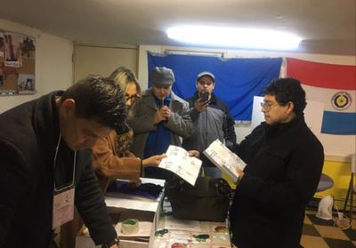 Paraguayos votan en Estados Unidos