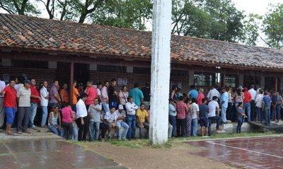 Clima no incide en participación de electores en Ñeembucú