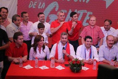 Marito gana y afirma que buscará unidad