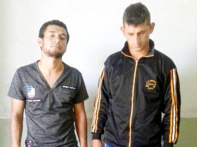"""Caen dos presuntos """"motochorros"""" tras golpe en Yaguarón"""