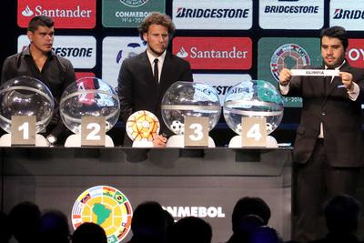 Este miércoles sortean las copas Libertadores y Sudamericana