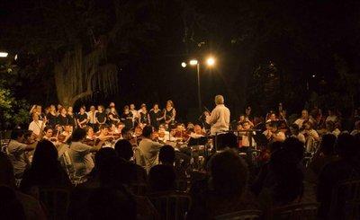 OSCA culmina ciclo de conciertos al aire libre