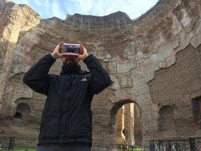 Visita en realidad virtual a las Termas de Caracalla