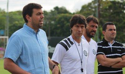 Daniel Garnero asume como entrenador del Olimpia