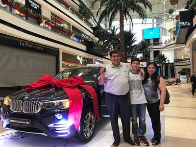 Centro comercial presenta a sus ganadores de fin de año