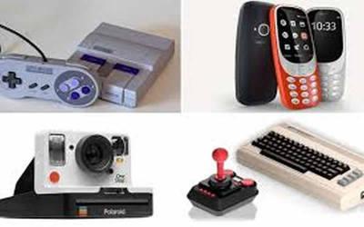 5 gadgets retro que reaparecieron en 2017