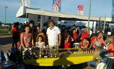 El ajedrez formó parte de la Expo Gestión de la Municipalidad de Asunción