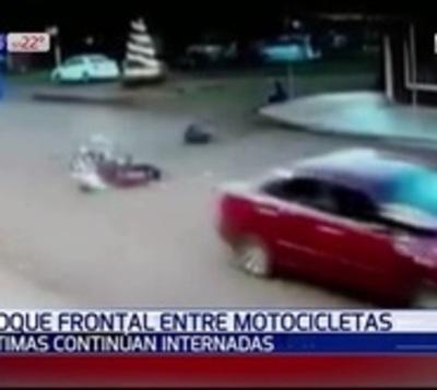 Terrible choque entre motocicletas deja un muerto en Itapúa