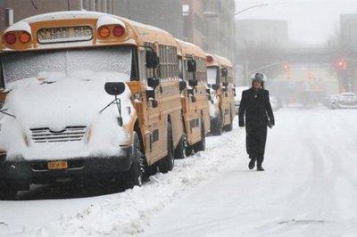 Anticipan fuerte tormenta invernal en Nueva York