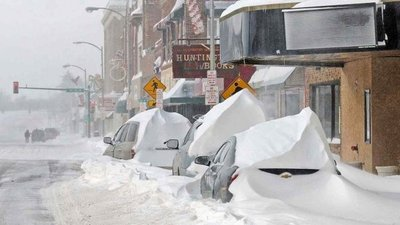 Intensa tormenta de nieve castiga a Nueva York