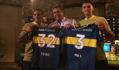 Tevez dice que volvió a Boca para ganar Libertadores y que sueña con Mundial