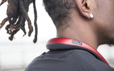El collar que graba videos en 360 grados
