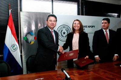 Firmaron convenio de cooperación entre MIC e Itaipú